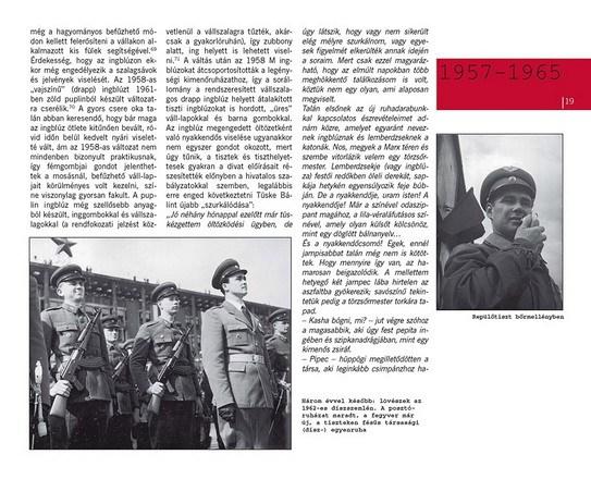 MAGYAR KATONAI EGYENRUHÁK 1957-1990, HUNIFORM KÖNYVEK