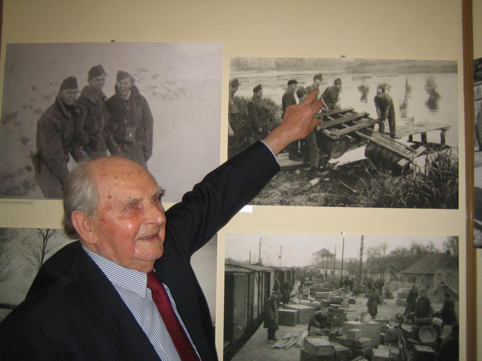 Podhorszky Béla m.kir tizedes egykor és ma