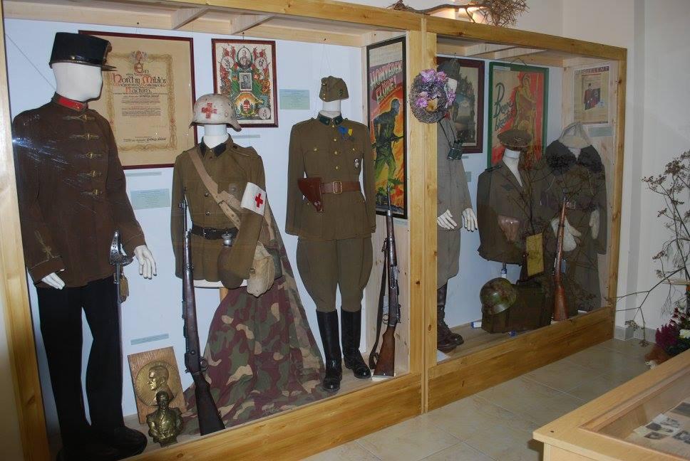 II. világháborús emlékkiállítás, Monor.